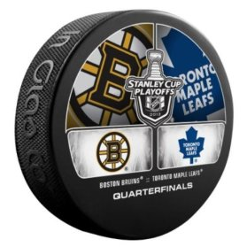 2013-nhl-stanley-cup-playoffs-boston-bruins-vs-toronto-maple-leafs-dueling-souvenir-puck