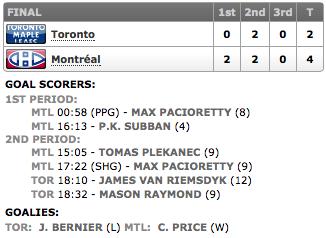 20131130_Leafs@Habs_Score